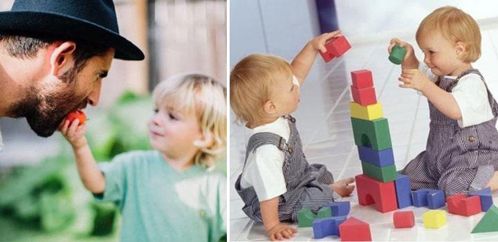 Как научить ребенка делиться игрушками и сладостями