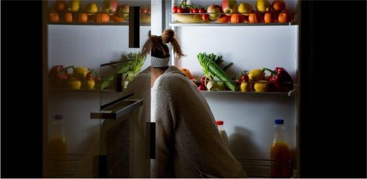 как не переедать на ночь