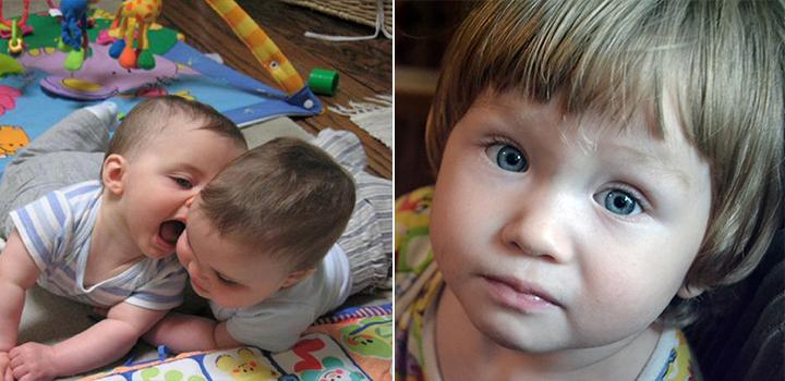 Ребенка бьет другой ребенок в детском саду изображение