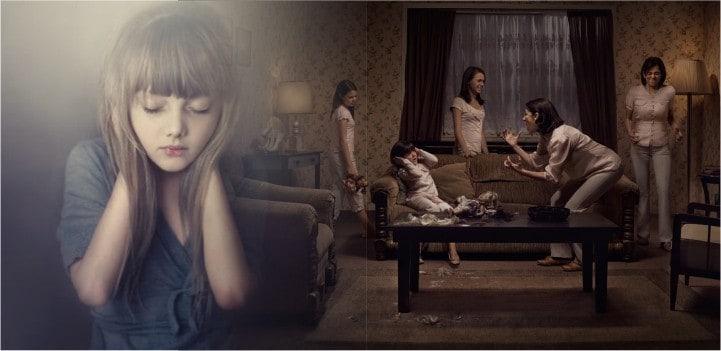 Дети жертвы насилия изображение