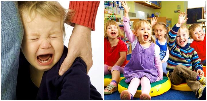 Почему ребенок не хочет идти в детский сад картинка