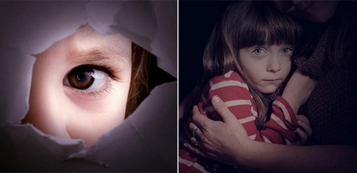 фото Ребенок боится темноты