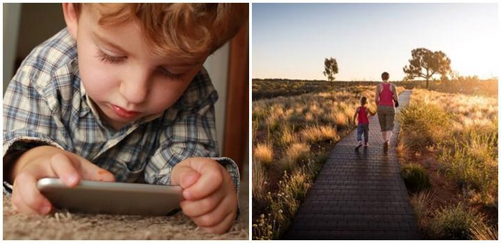 фото Как оторвать ребенка от телефона