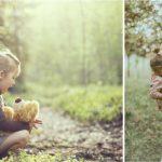 Внучка просит укусить поросенка