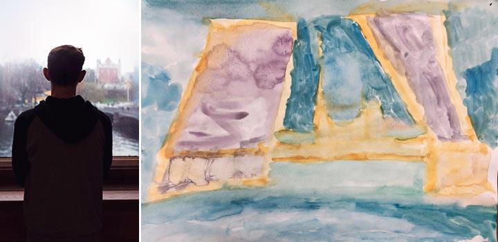 фото Урок рисования и аутизм